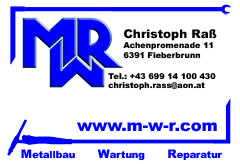 MWR Metallbau Wartung Reparatur
