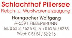 Schlachthof Pillersee Horngacher